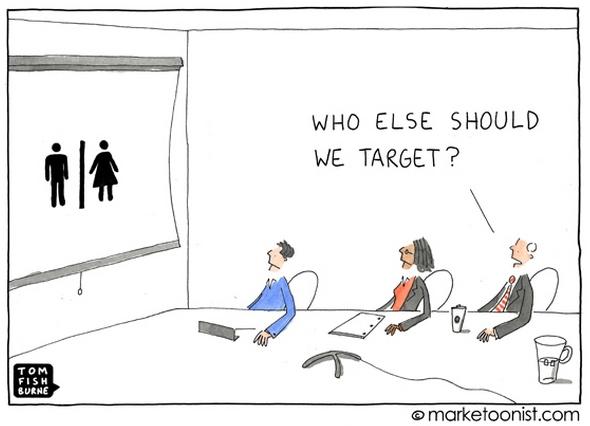doelgroepen bepalen in Microsoft Dynamics CRM_cartoon