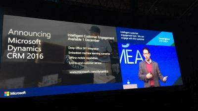 Officiële release van Microsoft Dynamics CRM 2016