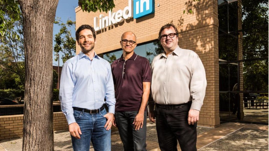 Overname LinkedIn door Microsoft
