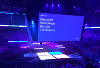 WPC-Microsoft Worldwide Partner Conference-2016-On stage