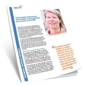 Efficiënt contactenbeheer met CRM bij Universiteit Antwerpen
