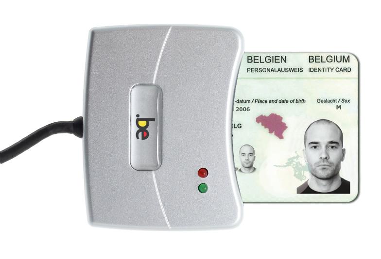 Kaartlezer elektronische identiteitskaart