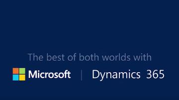 Afbeelding Microsoft Dynamics 365: the best of two worlds