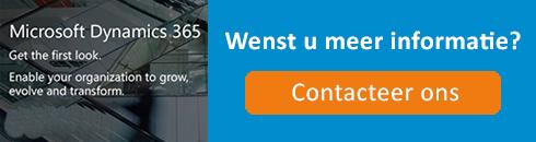Banner: wenst u meer informatie over Microsoft Dynamics 365