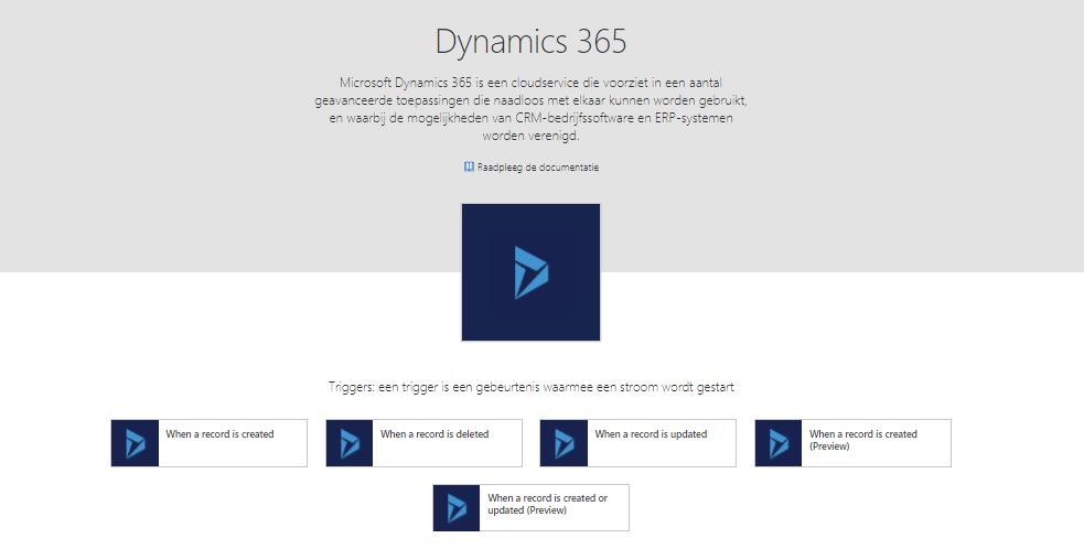 Net IT CRM blog: Microsoft Flow - Dynamics 365 triggers
