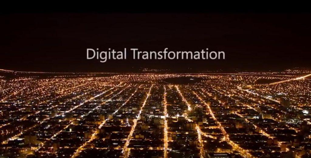 Afbeelding: digitale transformatie - trends voor 2017