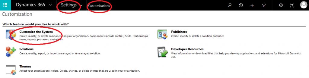Microsoft Dynamics 365: Editable Grid inschakelen voor een subweergave - stap 1