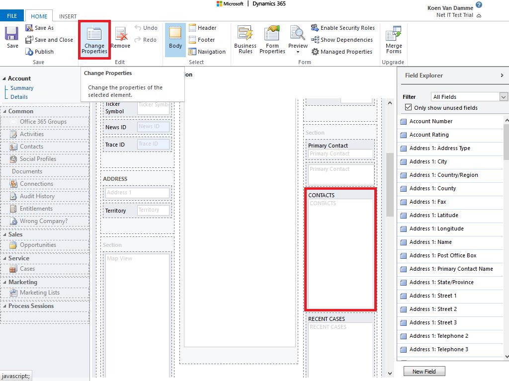 Microsoft Dynamics 365: Editable Grid inschakelen voor een subweergave - stap 4