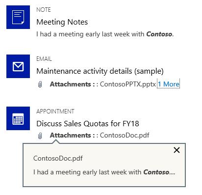 Microsoft Dynamics 365: Relevance Search zoeken in documenten