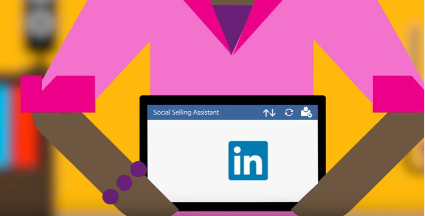 Net IT CRM Blog: afbeelding voor Social Selling Assistant van Microsoft Social Engagement