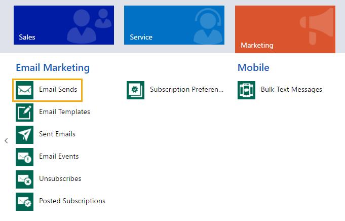 Net IT CRM Blog: ClickDimensions uitgesloten emailadressen-screenshot