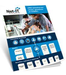 Cover productfiche midoffice: website Net IT CRM downloads uitgelichte afbeelding