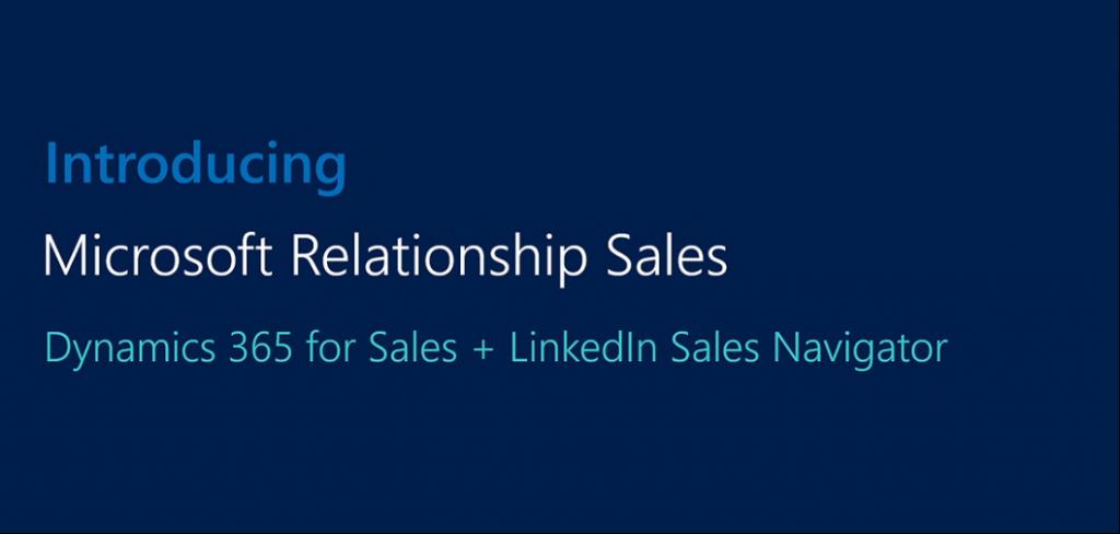Net IT CRM blog: Microsoft en LinkedIn - Microsoft Relationship Sales Solution