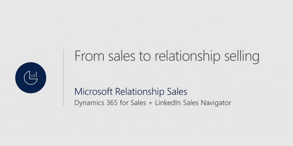 Net IT CRM blog: Microsoft Inspire 2017 - Microsoft Relationship Sales
