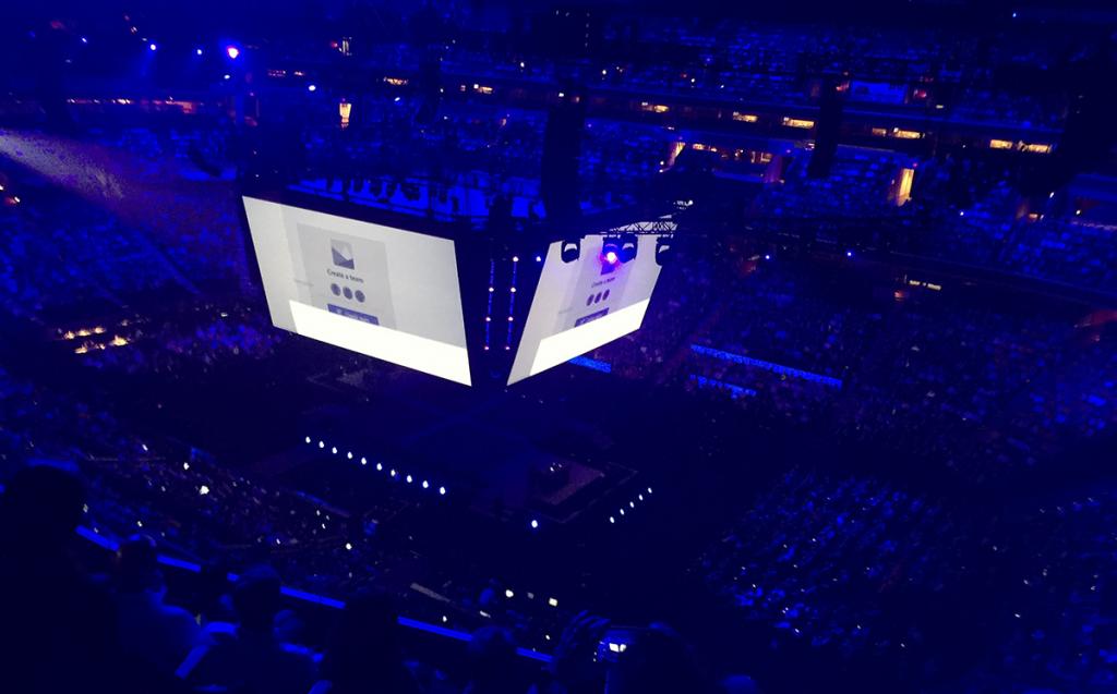 Net IT CRM blog: Microsoft Inspire 2017 podium