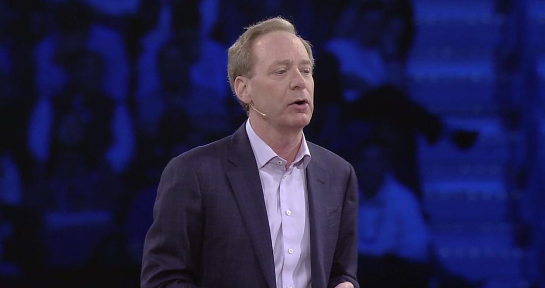 Net IT CRM blog: Microsoft Inspire Vision Keynote dag 3 Brad Smith