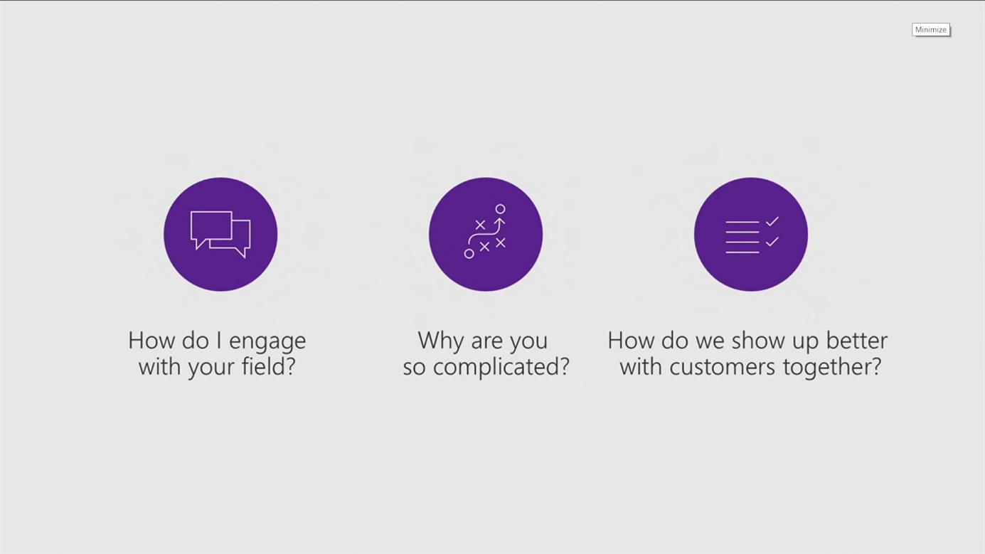 Net It CRM blog: Microsoft Inspire Vision Keynote dag 3 vragen partners