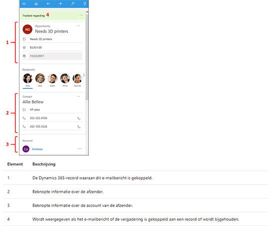 Net IT CRM Blog: Microsoft Dynamics 365 voor Outlook - screenshot 02