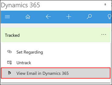 Net IT CRM Blog: Microsoft Dynamics 365 voor Outlook - screenshot 07