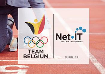 Logo Net IT official supplier Team Belgium