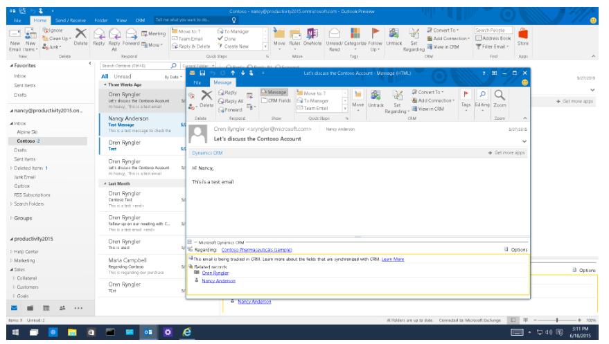 De Dynamics 365 Outlook add-in verdwijnt - Net IT CRM Blog