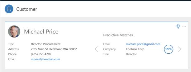 Net IT CRM blog: screenshot Customer Insights voorspellende matching 01