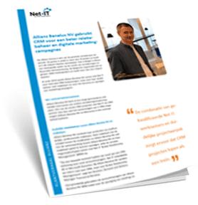 2018 Cover CRM klantverhaal Allianz Benelux NV