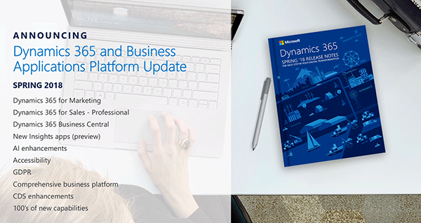Net IT CRM blog: Microsoft Business Forward 2018 - spring 2018 release Microsoft Dynamics 365