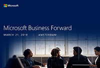 Net IT CRM blog: Microsoft Business Forward 2018 - uitgelichte afbeelding