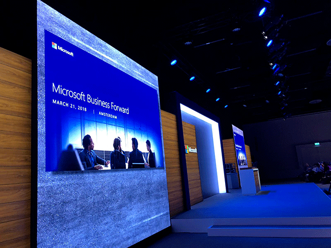 Net IT CRM blog: podium Microsoft Business Forward 2018