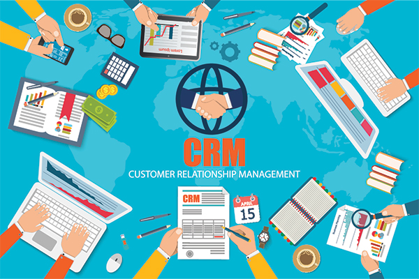 Afbeelding CRM software Customer Relationship Management