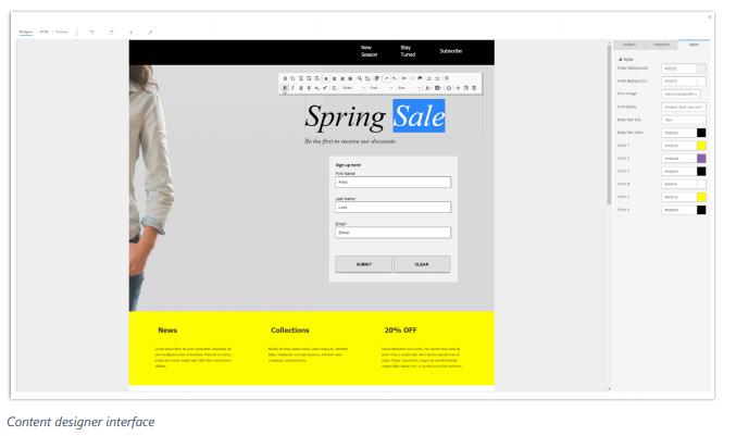 Net IT CRM Blog: Microsoft Dynamics 365 Spring ' 18 release - screenshot content creation
