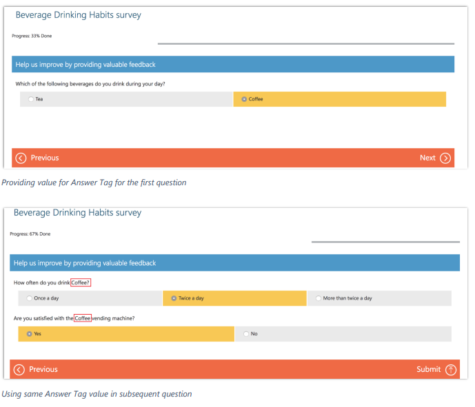 Net IT CRM Blog: Microsoft Dynamics 365 Spring ' 18 release - screenshot Voice of the Customer personalize surveys