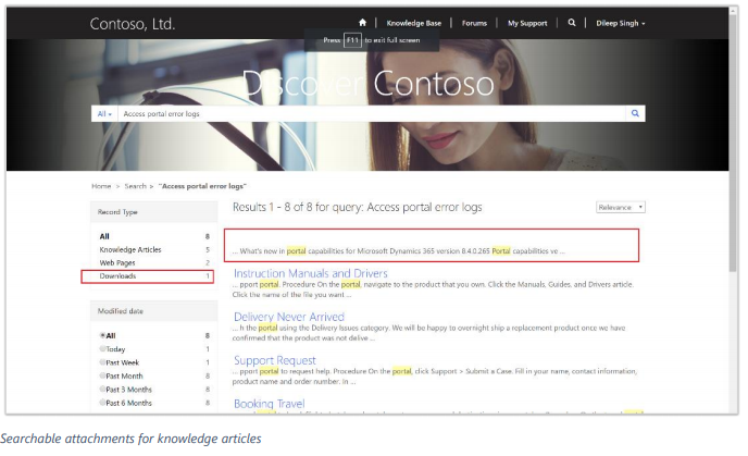 Net IT CRM Blog: Microsoft Dynamics 365 Spring ' 18 release - screenshot searchable attachments for knwoledge articles