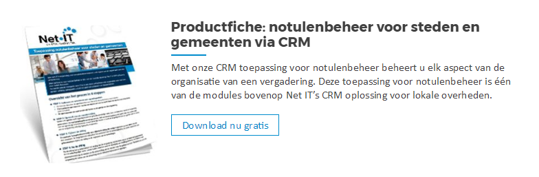 Download productfiche notulenbeheer met crm