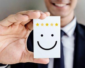 Net IT CRM Blog: Afbeelding gebruiksvriendelijk tevreden werknemer