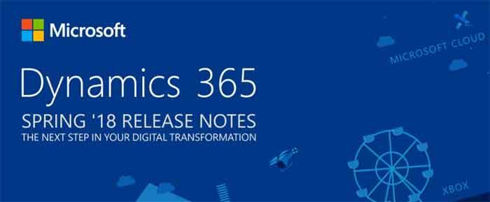 Net IT CRM Blog: Afbeelding Dynamics 365 Spring 2018 release