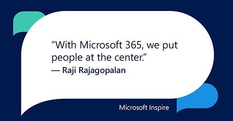 Net IT CRM Blog: Microsoft Inspire 2018 dag 2 - tweet Raji Rajagopalan