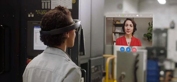 Net IT CRM Blog: Oktober '18 update van Microsoft Dynamics 365 - screenshot Remote Assist