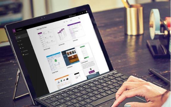 Net IT CRM Blog: Microsoft PowerApps - screenshot computer