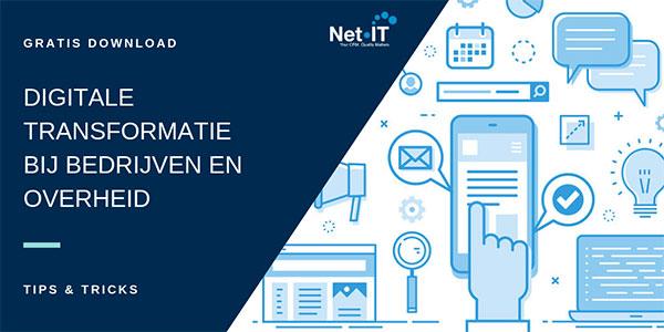 Net IT gratis Download Digitale transformatie bij bedrijven en overheid