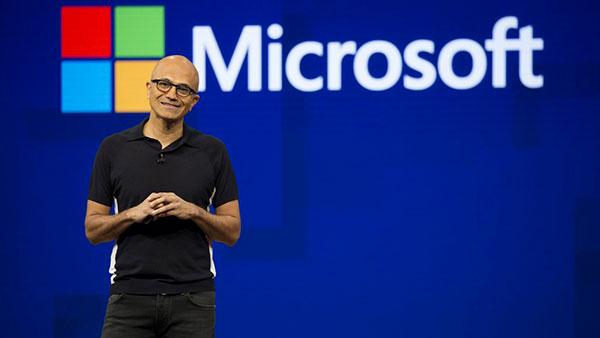 Afbeelding Microsoft CEO Satya Nadella