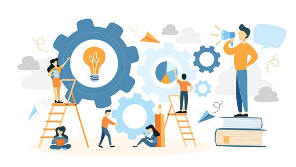Net IT CRM Blog: Afbeelding voor blogartikel samenwerking sales en marketing