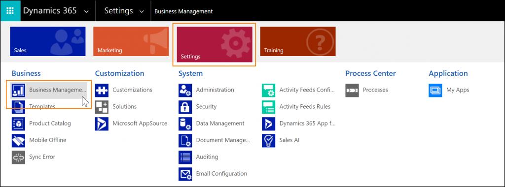Afbeelding voor blogartikel: Social selling via LinkedIn & Dynamics 365 - Screenshot Sales Navigator inschakelen in Dynamics 365