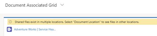 Integratie Microsoft Teams met Dynamics 365: screenshot bestanden weergeven en koppelen