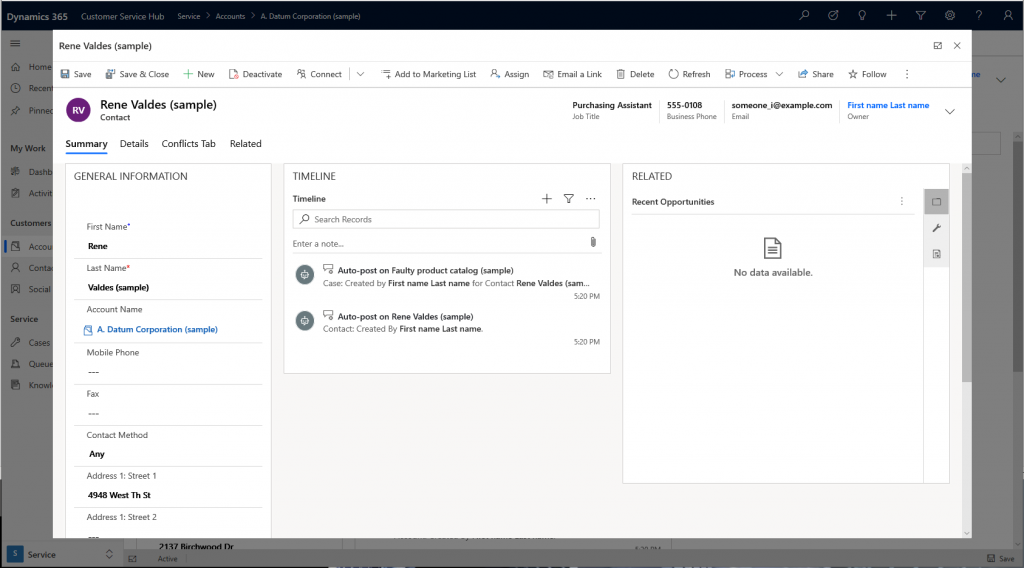 MSDyn365 new feature Main Form Dialog