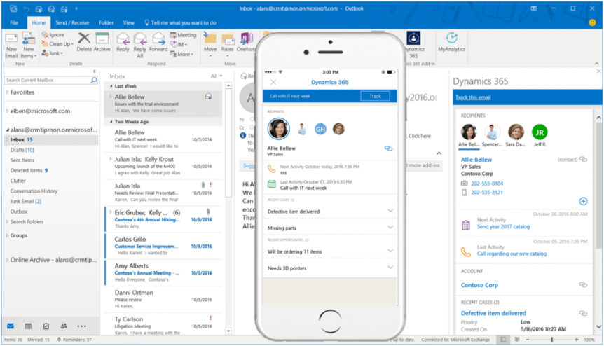 Net IT CRM Blog Dynamics 365 app for Outlook