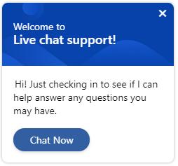 Net IT Blog: screenshot uitnodiging  proactieve chat