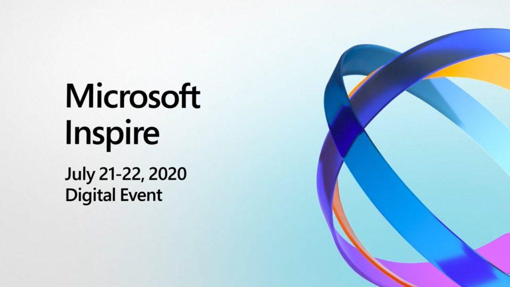 Afbeelding Microsoft Inspire 2020