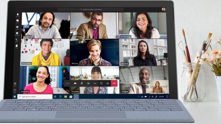 Microsoft Teams eigen virtuele achtergronden
